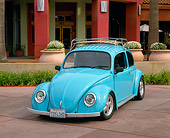 dream car vw bug sky blue