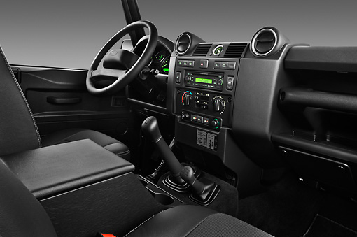 Land Rover Defender 110 2013 Interior