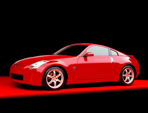Nissan 350z 2004 Red
