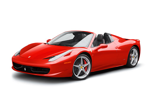 Pics For > Red Ferrari White Background