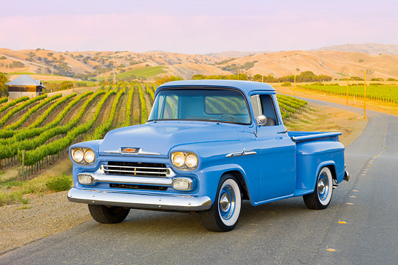 Classic Chevy Truck Stock Images