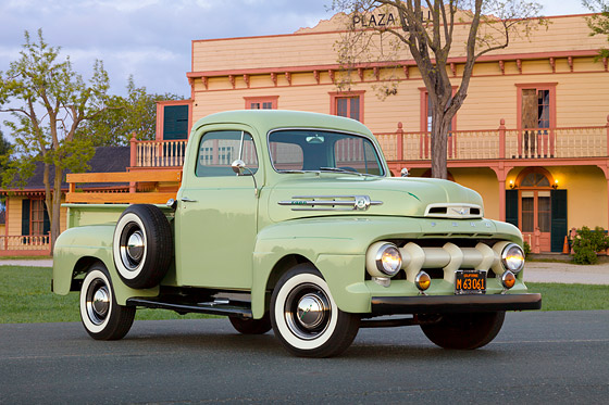 Classic Ford Truck Stock Images
