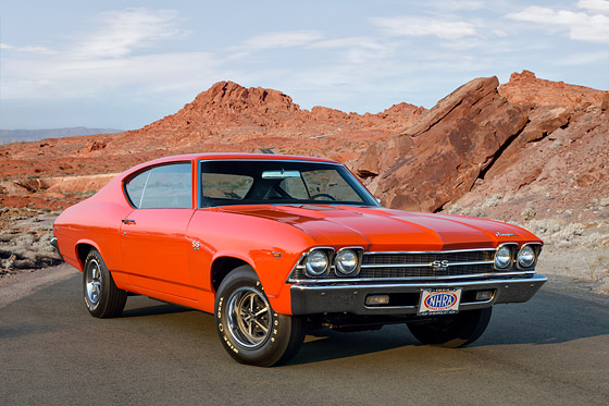 Muscle Car Stock Photos
