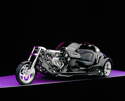 AUT 09 RK0785 01 © Kimball Stock 2004 Creative Hot Rods The Eliminator Black