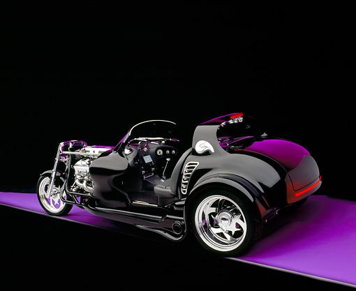 AUT 09 RK0787 08 © Kimball Stock 2004 Creative Hot Rods The Eliminator Black