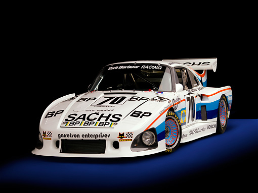 AUT 13 RK0197 01 © Kimball Stock 1980 Porsche 935 K3 Race Car