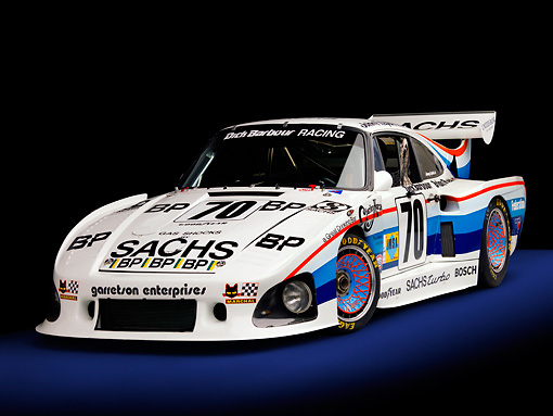 AUT 13 RK0197 02 © Kimball Stock 1980 Porsche 935 K3 Race Car