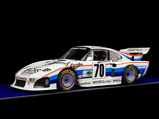 AUT 13 RK0199 01 © Kimball Stock 1980 Porsche 935 K3 Race Car