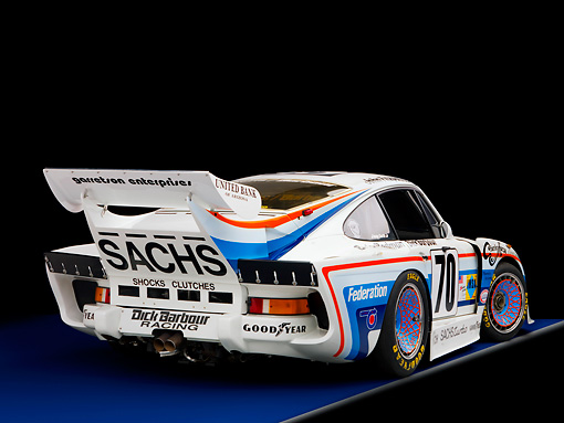 AUT 13 RK0201 01 © Kimball Stock 1980 Porsche 935 K3 Race Car