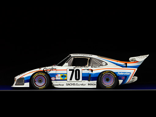 AUT 13 RK0203 01 © Kimball Stock 1980 Porsche 935 K3 Race Car