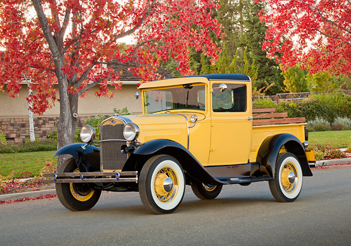 AUT 14 RK1786 01 © Kimball Stock 1930 Ford