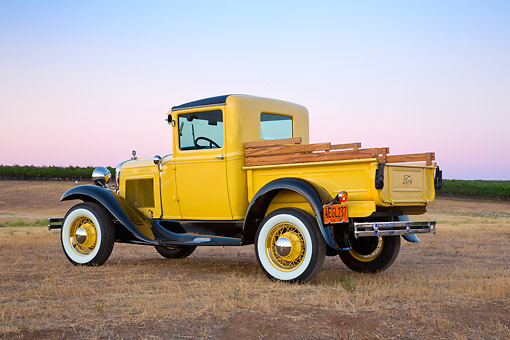 AUT 14 RK1787 01 © Kimball Stock 1930 Ford