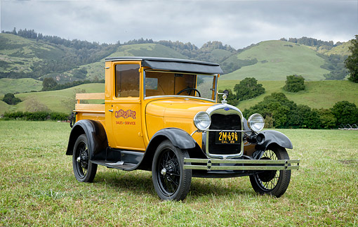 AUT 14 RK2083 01 © Kimball Stock 1929 Ford Truck