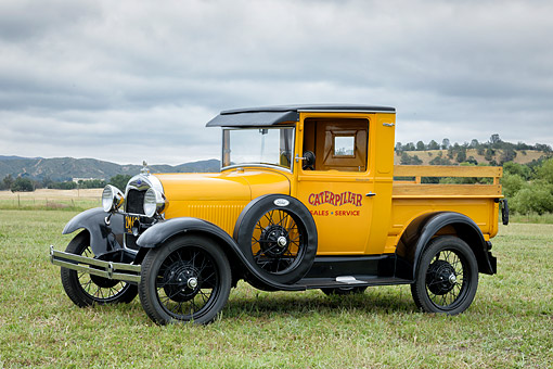 AUT 14 RK2084 01 © Kimball Stock 1929 Ford Truck