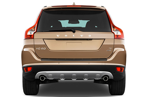 AUT 15 IZ0770 01 © Kimball Stock 2012 Volvo XC60 SUV Bronze Rear View Studio