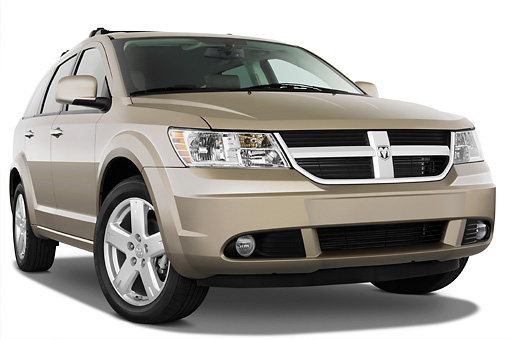 AUT 15 IZ0621 01 © Kimball Stock 2010 Dodge Journey RT Gold 3/4 Front View Studio