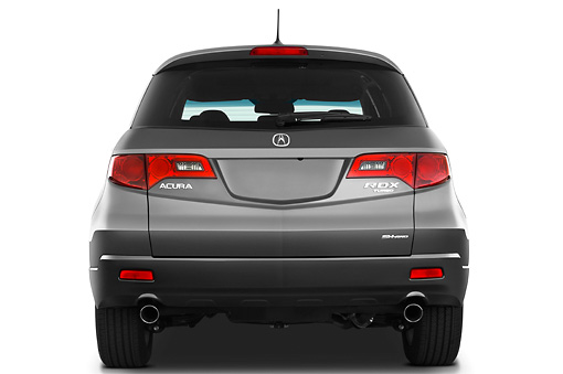 AUT 15 IZ0669 01 © Kimball Stock 2009 Acura RDX Gray Rear View Studio