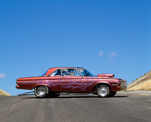 AUT 22 RK1418 05 © Kimball Stock 1964 Plymouth Belvedere