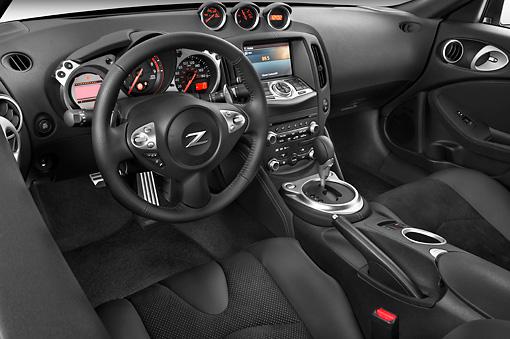 2010 Nissan 370Z Touring Coupe Gray Interior Detail Studio