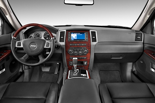 2010 jeep grand cherokee blue interior detail studio - 2010 jeep grand cherokee interior ...