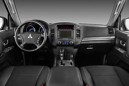 Montero car stock photos kimballstock for Mitsubishi montero interior