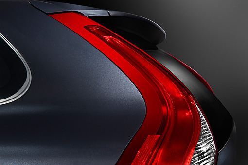 AUT 30 IZ1212 01 © Kimball Stock 2009 Volvo XC60 Tail Light Detail Studio