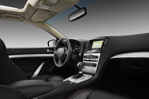 2013 Infiniti G37 Ipl Coupe Gray Interior Detail In Studio