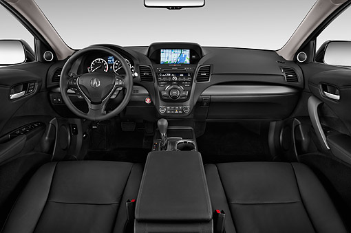 AUT 30 IZ1784 01 © Kimball Stock 2014 Acura RDX Technology Package Interior Detail