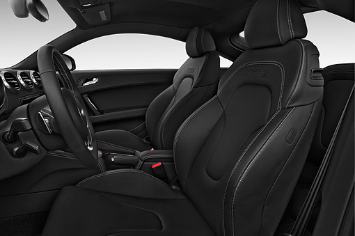 AUT 30 IZ1841 01 © Kimball Stock 2014 Audi TTS 2.5t Quattro 2-Door Coupe Interior Detail