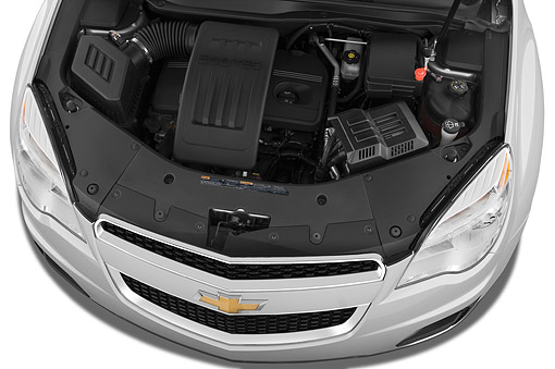 AUT 30 IZ1934 01 © Kimball Stock 2014 Chevrolet Equinox 2LT 5-Door SUV Engine Detail