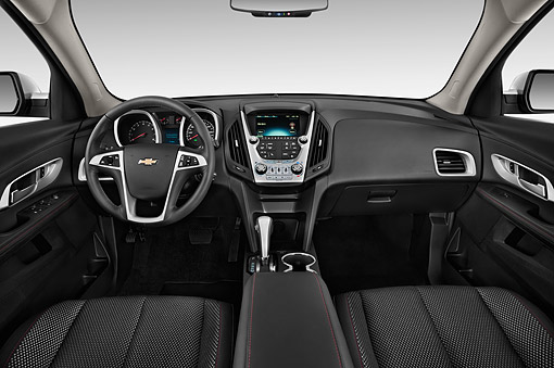 AUT 30 IZ1936 01 © Kimball Stock 2014 Chevrolet Equinox 2LT 5-Door SUV Interior Detail