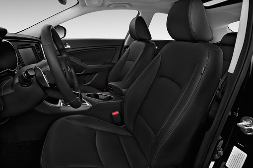 AUT 30 IZ2151 01 © Kimball Stock 2014 KIA Optima SX AT 4-Door Profile Interior Detail