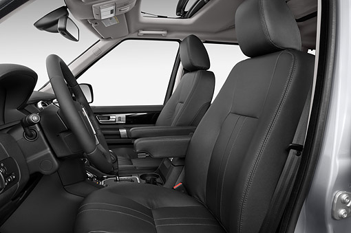 AUT 30 IZ2179 01 © Kimball Stock 2014 Land Rover LR4 Base 5- Door SUV Interior Detail