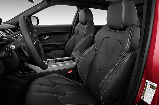 AUT 30 IZ2183 01 © Kimball Stock 2014 Land Rover Range Rover Evoque Pure 5-Door SUV Interior Detail