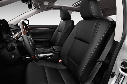 AUT 30 IZ2187 01 © Kimball Stock 2014 Lexus ES 300h 4-Door Sedan Interior Detail