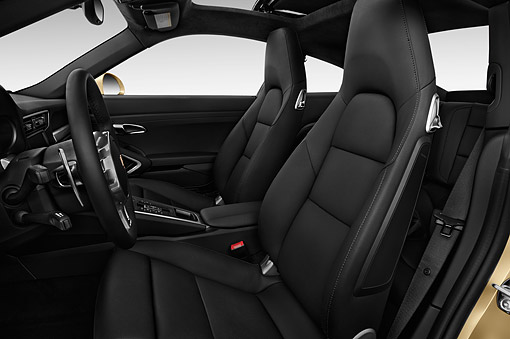 AUT 30 IZ2381 01 © Kimball Stock 2014 Porsche 911 Carrera Coupe 2-Door Interior Detail