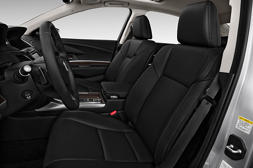 AUT 30 IZ2421 01 © Kimball Stock 2015 Acura RLX 3.5 Auto 4-Door Sedan Interior Detail