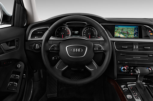 AUT 30 IZ2440 01 © Kimball Stock 2015 Audi Allroad 2.0 TFSI Quattro 8 Speed Tiptronic 4-Door Wagon Interior Detail