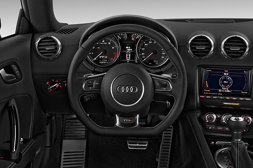 AUT 30 IZ2465 01 © Kimball Stock 2015 Audi TTS 2.5t Quattro 2-Door Coupe Interior Detail In Studio