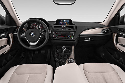 AUT 30 IZ2468 01 © Kimball Stock 2015 BMW 2 Series 228i Coupe 2-Door Interior Detail