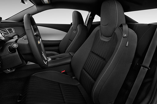 AUT 30 IZ2520 01 © Kimball Stock 2015 Chevrolet Camaro 3.6 1LS 2-Door Coupe Interior Detail