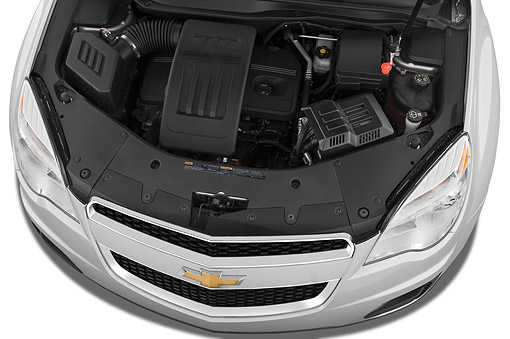 AUT 30 IZ2531 01 © Kimball Stock 2015 Chevrolet Equinox 2LT 5-Door SUV Engine Detail