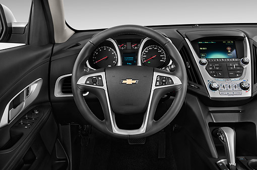 AUT 30 IZ2534 01 © Kimball Stock 2015 Chevrolet Equinox 2LT 5-Door SUV Interior Detail