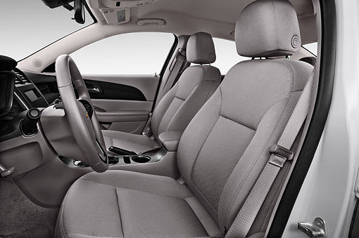 AUT 30 IZ2540 01 © Kimball Stock 2015 Chevrolet Malibu 1LS 4-Door Sedan Interior Detail