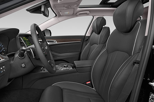 2015 Hyundai Genesis 3 8 4 Door Sedan Interior Detail Kimballstock