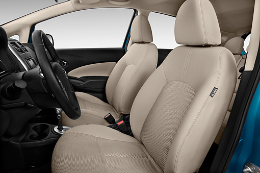 AUT 30 IZ2900 01 © Kimball Stock 2015 Nissan Versa Note 1.6s Plus CVT 5-Door Hatchback Interior Detail