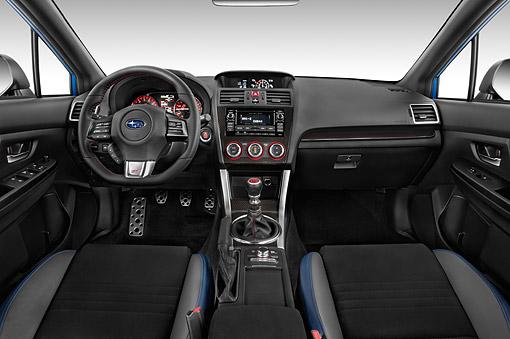 AUT 30 IZ2921 01 © Kimball Stock 2015 Subaru WRX STI 2.5 4 Door Sedan