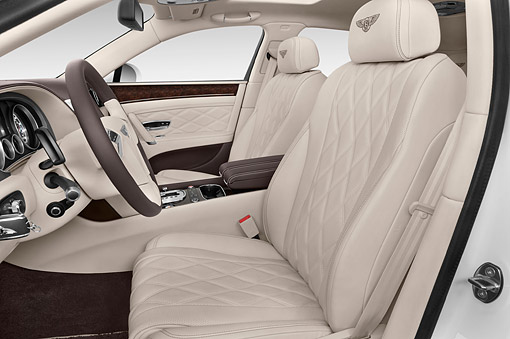 AUT 30 IZ2940 01 © Kimball Stock 2014 Bentley Continental Flying Spur Sedan 4-Door Interior Detail