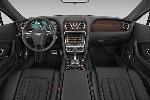 AUT 30 IZ2957 01 © Kimball Stock 2014 Continental GT V8 Coupe 2-Door Interior Detail