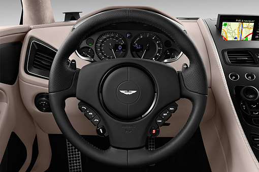 AUT 30 IZ2982 01 © Kimball Stock 2015 Aston Martin Vanquish Coupe 2-Door Interior Detail